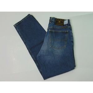 Lucky Brand Dungarees 33 X 32 Blue Jeans Relaxed